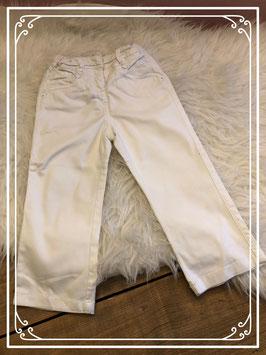 Witte broek van Cuddles & Smiles - Maat 86