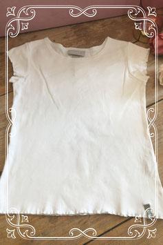Wit korte mouwen shirt van H&M Dubster - Maat 134