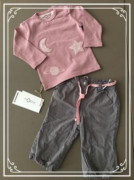Setje van prenatal broekje met noeser truitje-maat 62