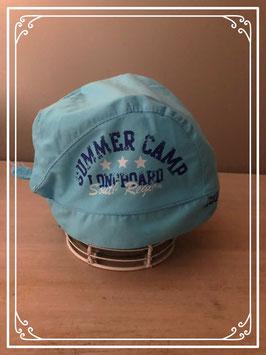 Stoer lichtblauw zomermutsje van Prénetal