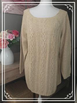 Zandkleurige trui van Tendergrass - Maat 50-52