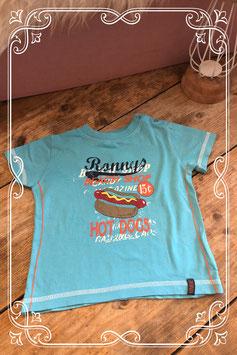 Blauw t-shirt van het merk Beebies - maat 80