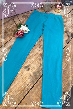 Turquoise kleurige legging van het Merk - Hema - Maat - 158- 164