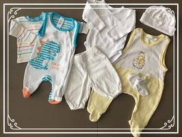 baby pakket van oa hema en babyclub-maat 50