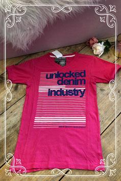 Roze t-shirt met print van Unlocked - Maat 164-170