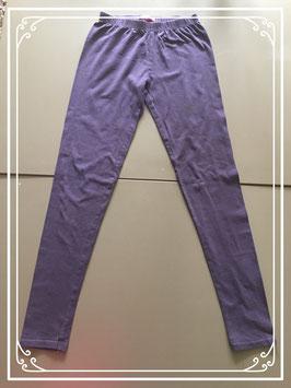 Paarse legging - Maat 146-152