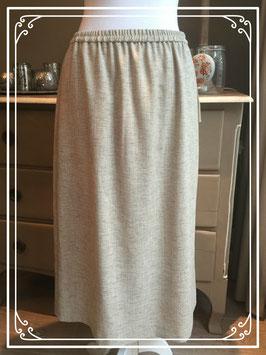 Nieuw: ecru-kleurige lange rok van Habella - maat 42