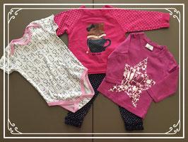 Setje kleding met vrolijke prints - Maat 80
