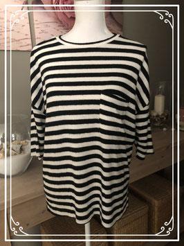 Gestreept T-shirt van Zara Trafaluc – Maat M