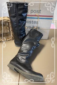 Hoge zwarte laarzen van Graceland maat 39