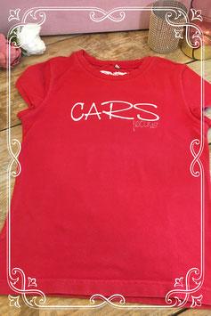 Rood t-shirt van Cars Girls - maat 140