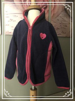 Warm fleece vest merk New Basic - maat 92/98