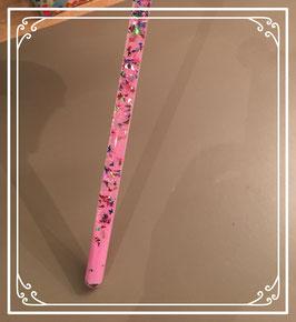 Nieuw: roze glitterstaaf