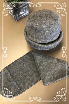 2-delige grijze set van Hema - voor 6-8 jaar