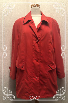 Mooie rode jas van Summer Colour maat 44