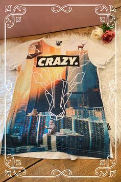 Crazy leuk t-shirt van Coolcat maat 146-152