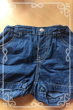 Leuk kort jeans broekje van Hema - maatje 92