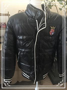 Zwarte jas van DMG Fashion - maat M