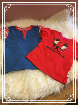 Rood Fiep Westendorp t shirt set