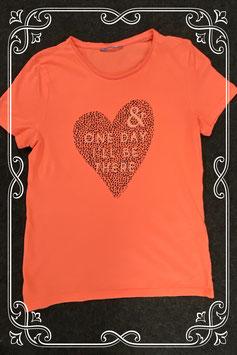 Leuk shirt met hart van Tom Tailer maat S
