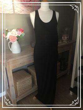 Zwarte lange mouwloze jurk van Prènatal - maat L