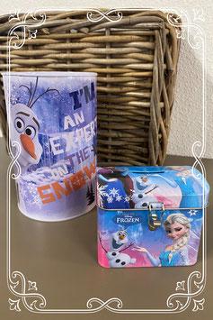 2 spaarpotten van Frozen