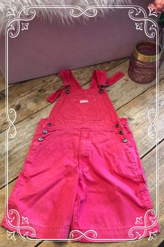 Roze opvallend broekpak van Kids World (C&A)- Maat 122