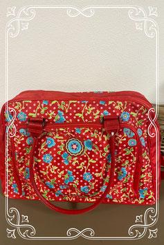 Nieuw! Grote vrolijk gekleurde tas van Basic Travel Collection