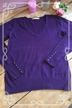 Paarse trui van de Miss Etam - Maat M