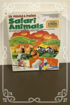 Safari Animals, dieren maken met gips!