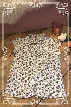PERSIVAL bloemetjes blouse - Maat 140/146