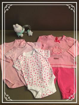 Roze nijntje set - Maat 62-68