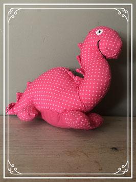 Nieuw: Knuffeltje roze dino van de HEMA