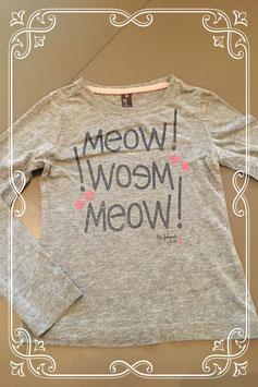 Leuk grijs shirt met tekst van Jill - maatje 98/104