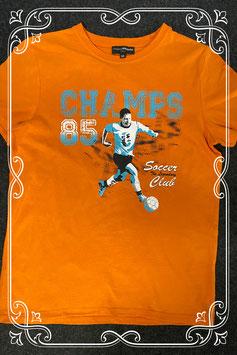 Leuk oranje shirt van Charles Vogele maat 164