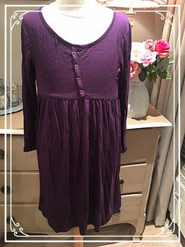 Nieuw: paarse jurk van H&M - maat 158-164