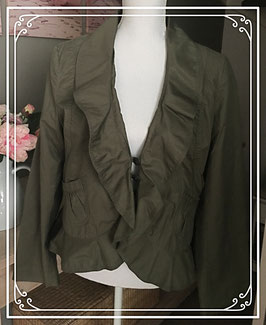 Legergroene zomerjas - Maat 42
