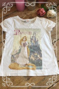 Rapunzel T-shirt van de H&M - Maat 110/116