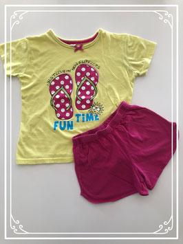 Korte pyjama zomers - Maat 122-128