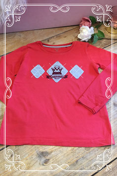Rood lange mouwen shirt van Esprit - Maat 128-134
