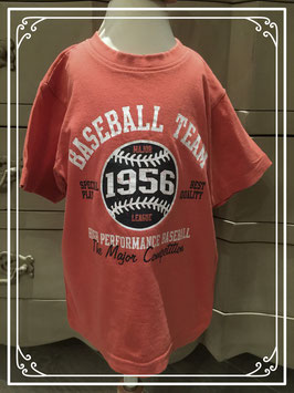 Rood T-shirt van Scamps & Boys - maat 92-98