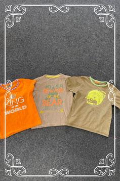 2 leuke shirts van 9th Avenue en Hema en longsleeve in maat 110/116