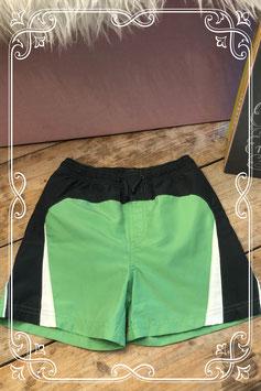 Groen/grijze zwemshort van Chicca - Maat 110/116