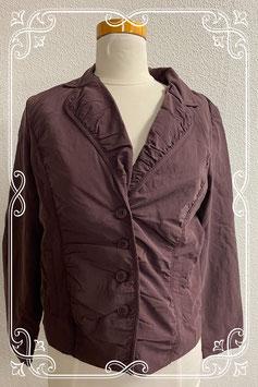 Nieuw! Aubergine kleurig jasje van La Ligna maat 40