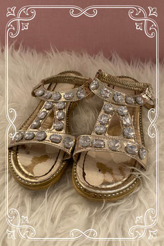 Diamanten sandaaltjes maatje 34