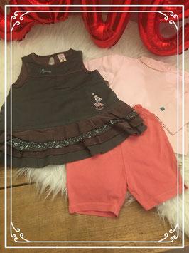 DISNEY kleding set van de C&A met Minnie Mouse - Maat 68