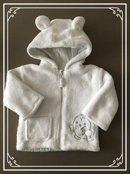 Baby jas bont wit merk zeeman - maat 62