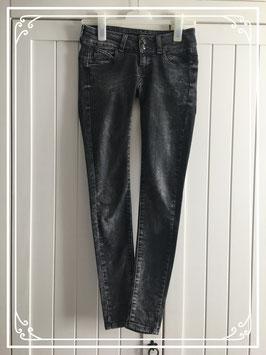 Grijze stonewashed spijkerbroek van Seven Sisters - jeans maat 23 (XXS)