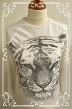 Witte trui met tijger van C&A maat 170/176