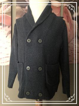 Stoer donker grijs vest merk YCC Collection - maat 104